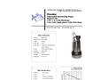 Piranha - Model P-200 - Industrial Duty Dewatering Pump - Technical Datasheet