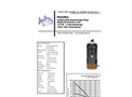 Piranha - Model PP-250-HV/PP-250-HH - Industrial Duty Dewatering Pump - Technical Datasheet