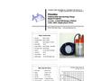 Piranha - Model P-300 50Hz - Industrial Duty Dewatering Pump - Technical Datasheet