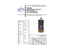 Piranha - Model PP-500-HV - Industrial Duty Dewatering Pump - Technical Datasheet
