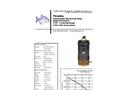 Piranha - Model PP-500-HH - Industrial Duty Dewatering Pump - Technical Datasheet