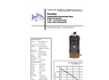 Piranha - Model PP-500-HH - Industrial Duty Dewatering Pump - Technical Datasheet