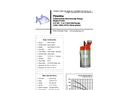 Piranha - Model P-650-HV 60Hz - Industrial Duty Dewatering Pump - Technical Datasheet