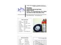 Piranha - Model P-650-HV 50Hz - Industrial Duty Dewatering Pump - Technical Datasheet