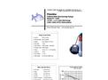 Piranha - Model P-1000-HV 60 Hz/P-1000-HH 60Hz - Industrial Duty Dewatering Pump - Technical Datasheet