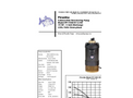 Piranha - Model PP-1500-HV/PP-1500-HH - Industrial Duty Dewatering Pump - Technical Datasheet