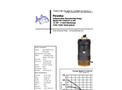 Piranha - Model PP-1500-HV/PP-1500-HH - Industrial Duty Dewatering Pump - Technical Datasheet