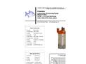 Piranha - Model P-2000-HV 60Hz/P-2000-HH 50Hz - Industrial Duty Dewatering Pump - Technical Datasheet