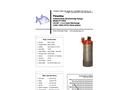 Piranha - Model P-3000-HV 60Hz/P-3000-HH 60Hz - Industrial Duty Dewatering Pump - Technical Datasheet