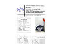 Piranha - Model P-3000-HV 50Hz/P-3000-HH 50Hz - Industrial Duty Dewatering Pump - Technical Datasheet