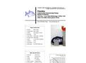 Piranha - Model P-4500-HV 50Hz/P-4500-HH 50Hz - Industrial Duty Dewatering Pump - Technical Datasheet