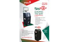 PEL Solar Street Bin - Brochure