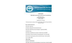 Dam Safety and Technician Training Workshop Agenda Brchoure
