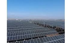 41MW Fuyang PV Poverty Alleviation Project Video