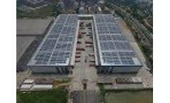 JD Logistics Park 3MW Solar Rooftop Video