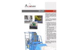 Model ATS 75.75 - Automatic Horizontal Channel Baler Datasheet