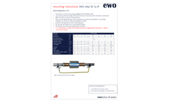 EWO VITAL - Mounting Instructions Manual