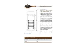 OriginClear P250 Datasheet