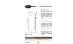 OriginClear P1000 Datasheet