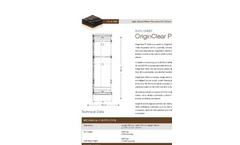 OriginClear P5000 Datasheet