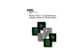 Cryptosporidium and Giardia Analysis and Testing Laboratory Services Brochure