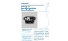 TR -200 - Portable Peristaltic Sampling Pump Brochure