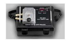 Model TR -200 - Portable Peristaltic Sampling Pump