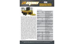 Epic - Model C90 - 800 Gallon Tank Hydro Seeder Brochure