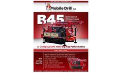B45 Mechanical Drill Brochure