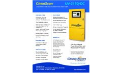 ChemScan UV-2150/DC Chlorination-Dechlorination Analyzer - Brochure