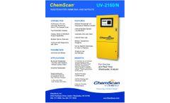 ChemScan UV-2150/N Wastewater Ammonia and Nitrate Analyzer - Brochure