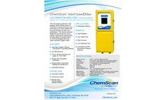 ChemScan mini LowChlor Chlorination Analyzer - Brochure