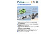 NESA - Model STM-H2O - Monitoring System for Sea Waters and Oceans Brochure