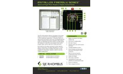 SJE - Model IFS - Single Phase Simplex Demand/Timed Dose Control Panel Brochure