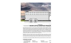 Show - Bumper Pull Cattle Trailers Brochure