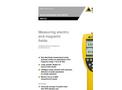 Narda - Model NBM-550 - Broadband Field Meter Brochure