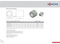 Model CP03-C-0315 DIA - Fan Mounted Silencer