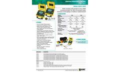 AEMC - Model 205 - Ground Resistance Testers Brochure