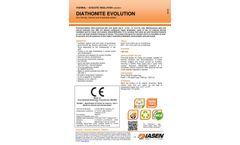 Diathonite Evolution - Natural Eco-Friendly Thermal Plaster Brochure