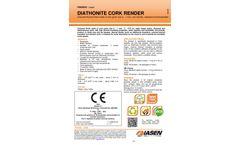 Diasen - Diathonite Cork Render Coloured Finishing Coating Brochure