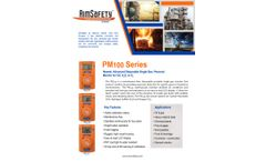 Aerionics - Model PM100 Series - Single Gas Monitor Brochure