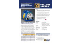 Climalife - Model XLT2-AP - Recovery Unit Brochure