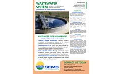 LIMS - Wastewater Data Management Software - Brochure
