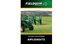 Fieldquip Lifestyle - Model LPD18-900 - Post Hole Diggers Brochure